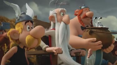 Image extraite du prochain volet des aventures d'Astérix et Obélix sur grand écran.