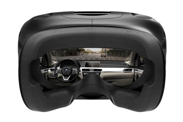 BMW mise sur le HTC Vive