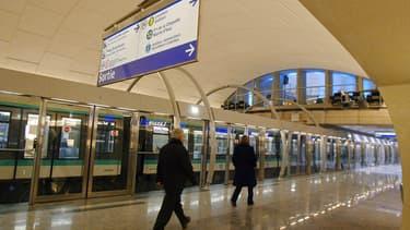 Le Grand Paris Express prévoit notamment l'extension de la ligne 14 du métro parisien jusqu'en banlieue