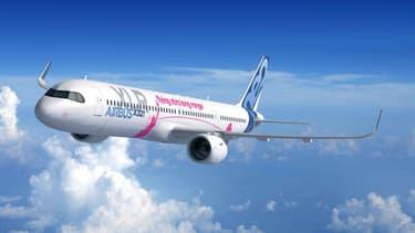 Airbus dévoile son A321XLR