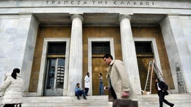 La Banque nationale grecque est actuellement la seule à pouvoir accorder de la liquidité aux banques du pays, la BCE ayant fermé ses guichets.
