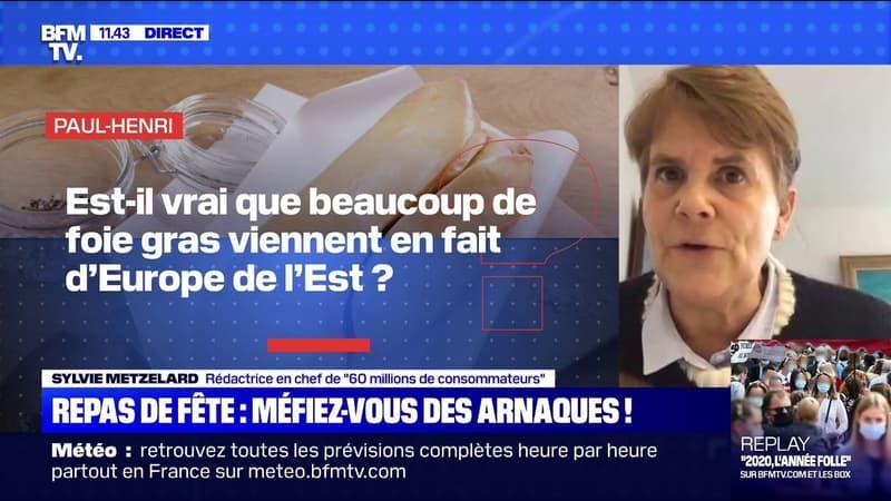 Foie gras, Saint-Jacques, truffes et champagne... Comment éviter les arnaques ? BFMTV répond à vos questions