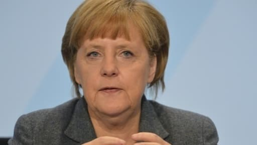 Angela Merkel a indiqué qu'un salaire minimum est la seule solution pour aboutir à un accord avec le SPD.