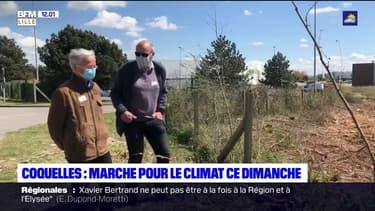 Coquelles: une marche pour le climat a eu lieu ce dimanche matin