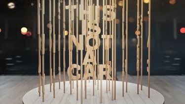 """""""This is not a car"""" sur le stand Volvo au salon de Los Angeles"""