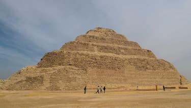 La pyramide du pharaon Djoser
