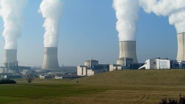 La centrale nucléaire de Cattenom, en Moselle, l'un des treize sites nucléaires survolés par des drones.