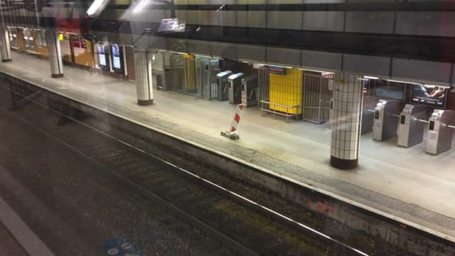 La station Saint-Michel ne rouvrira au public que le 2 septembre.