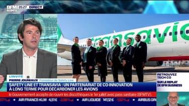 Start up & co : Safety Line et Transavia, un partenariat de co-inovation à long terme pour décarboner les avions - 11/05
