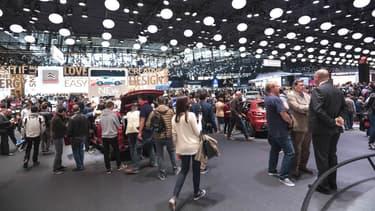 Le stand Citroën au dernier mondial de l'auto, en 2016
