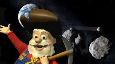 Les chercheurs d'or du XXIème siècle (ici celui du film Toy Story 2) iront certainement piocher sur les astéroïdes.