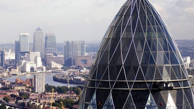 Les prix baissent à Londres