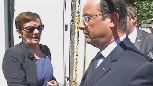 François Hollande a été sifflé et hué mercredi à son arrivée Carmaux.