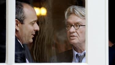 Les leaders de la CFDT et de FO, Laurent Berger et Jean-Claude Mailly. (image d'illustration)