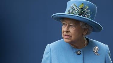 La reine Elizabeth, le 27 octobre 2016.