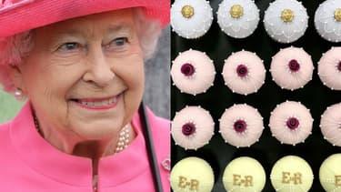 La reine Elizabeth II, ses cupcakes d'anniversaire