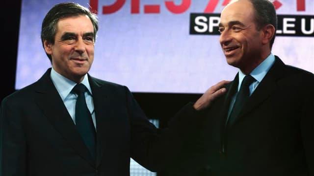 Jean-François Copé et François Fillon