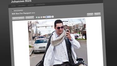 Tamerlan Tsarnaev en 2009, photographié pour un reportage sur son parcours de boxeur.