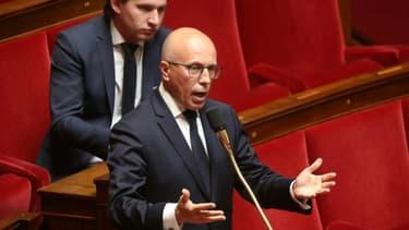Le député LR Eric Ciotti à l'Assemblée nationale à Paris le 7 mai 2020