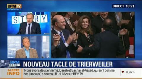 Valérie Trierweiler tacle une fois encore François Hollande et Ségolène Royal