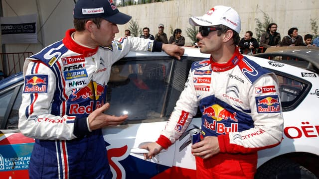 Sébastien Ogier et Sébastien Loeb