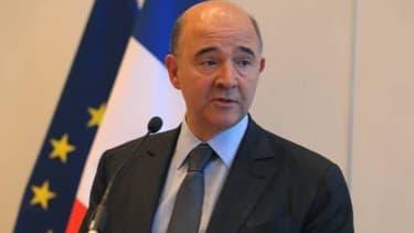 Pierre Moscovici, le ministre de l'Economie, a rappelé l'urgence du passage au système SEPA