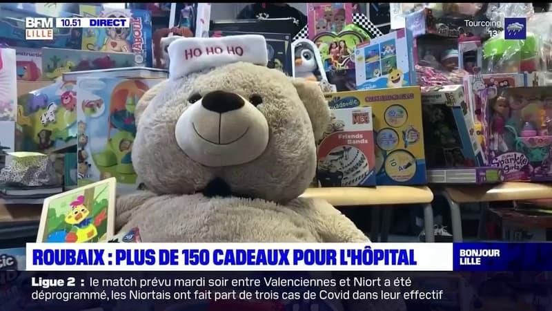 Roubaix: plus de 150 cadeaux pour les enfants hospitalisés