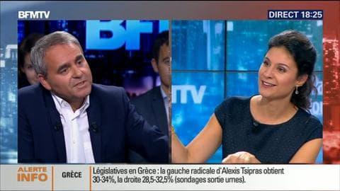 """Xavier Bertrand face à Apolline de Malherbe (1/2): """"Le Front national se nourrit des problèmes"""""""