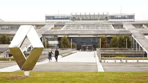 Le technocentre de Renault, à Guyancourt, le creuset de l'innovation du groupe.