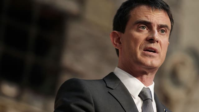"""Pour Manuel Valls, il faut combattre """"l'islamo-fascisme""""."""