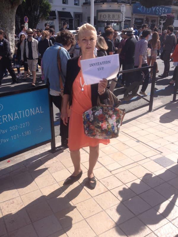 Sabine vient au Festival de Cannes depuis six ans