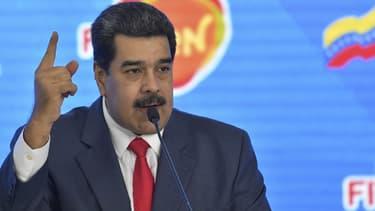 Le président du Venezuela, Nicolas Maduro.