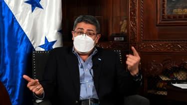 Juan Orlando Hernandez, président du Honduras.