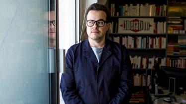 """Nicolas Demorand, directeur de """"Libération"""" depuis mars 2011, a annoncé sa démission le 13 février 2014."""