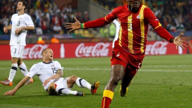 Asamoah Gyan a donné la victoire aux Ghanéens