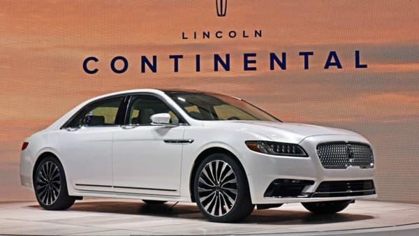 En 2016, Lincoln a dévoilé au salon de détroit sa nouvelle berline Continental.
