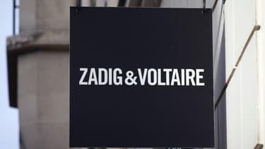 Zadig & Voltaire va pouvoir conserver l'aménagement de ses boutiques.