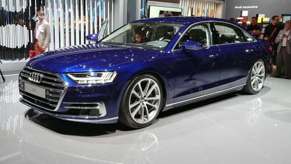 L'Audi A8 quatrième génération avait été dévoilée en juillet 2017.