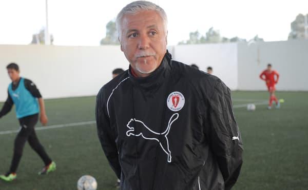 Nasser Larguet à l'Académie Mohamed VI en 2010