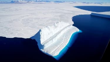 Les glaces de l'Antarctique - Image d'illustration