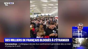 Les images des milliers de Français toujours bloqués à Marrakech