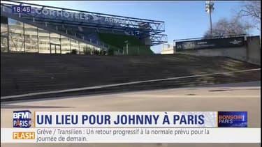"Paris: bientôt une ""esplanade Johnny Hallyday"" devant l'AccorHotels Arena"