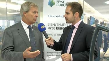 Vincent Bolloré a répondu aux questions de Sébastien Couasnon sur BFM Business