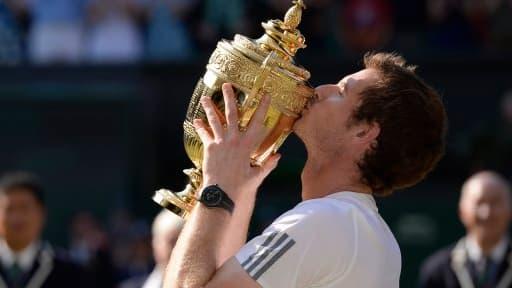 Andy Murray, vainqueur de Wimbledon 2013.