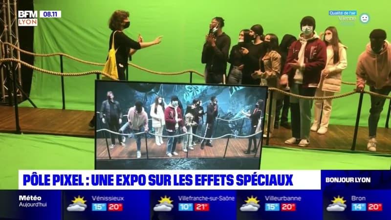 Regarder la vidéo Villeurbanne: une exposition sur les effets spéciaux au Pôle pixel