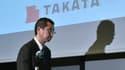 L'action Takata a chuté de 55% ce jeudi.