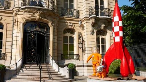 Plus de 1.000 oeuvres de Tintin ont été rassemblées chez Artcurial.