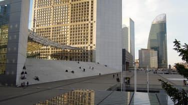 Les navettes autonomes circuleront pendant 6 mois sur l'esplanade de La Défense.