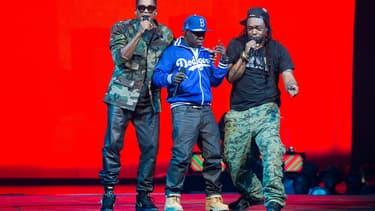 A Tribe Called Quest en concert à New York, le 20 novembre 2013