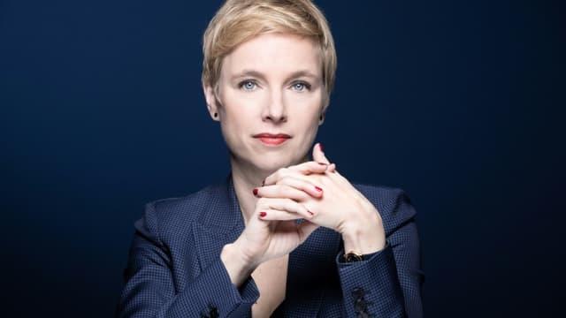 La députée LFI Clémentine Autain à Paris, le 4 janvier 2021